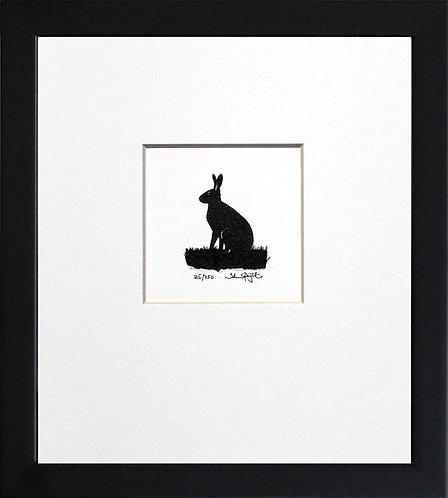 Hare in Black Frame