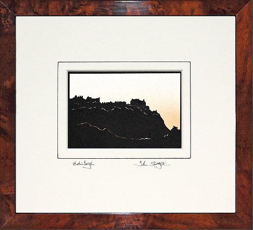 Edinburgh in Walnut Veneer Frame