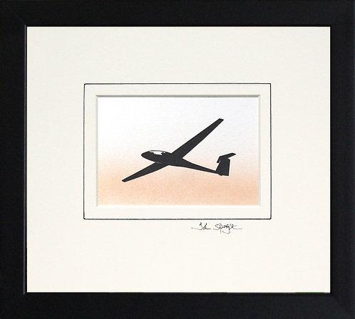 Glider - Design No.1 in Black Frame