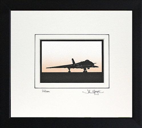 Vulcan - On Ground in Black Frame