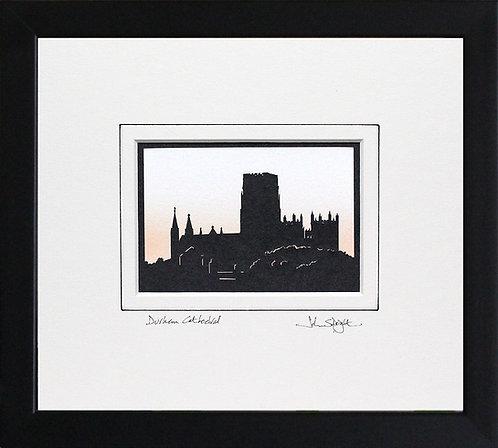 Durham Cathedral in Black Frame