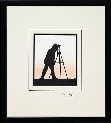 Photographer - SLR Camera in Black Frame