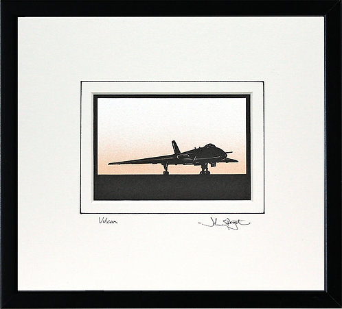 Vulcan - On Ground in Black Frame