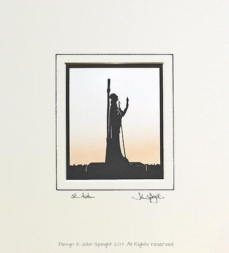 St. Aidan - Holy Island Statue