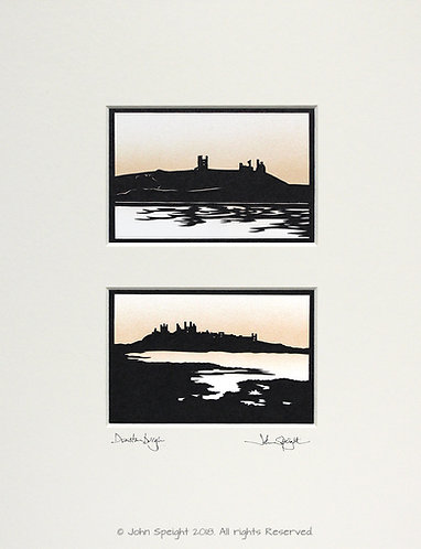 Dunstanburgh Castle Pair
