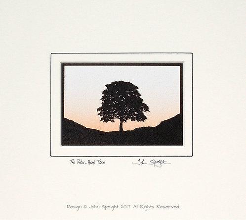 Robin Hood Tree, Sycamore Gap - Landscape Version