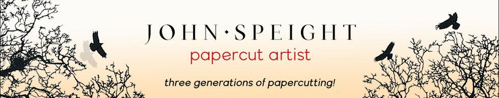 John Speight - Original papercut Art