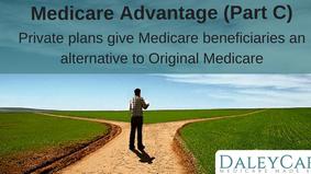 Medicare Advantage (Part C) private health plans