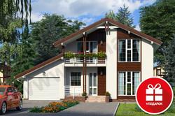Домокомплект проекта Бавария 155м2