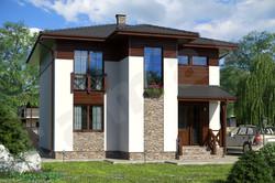 готовый недорогой дом 156 м2