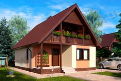 Практичный дом во немецкой технологи