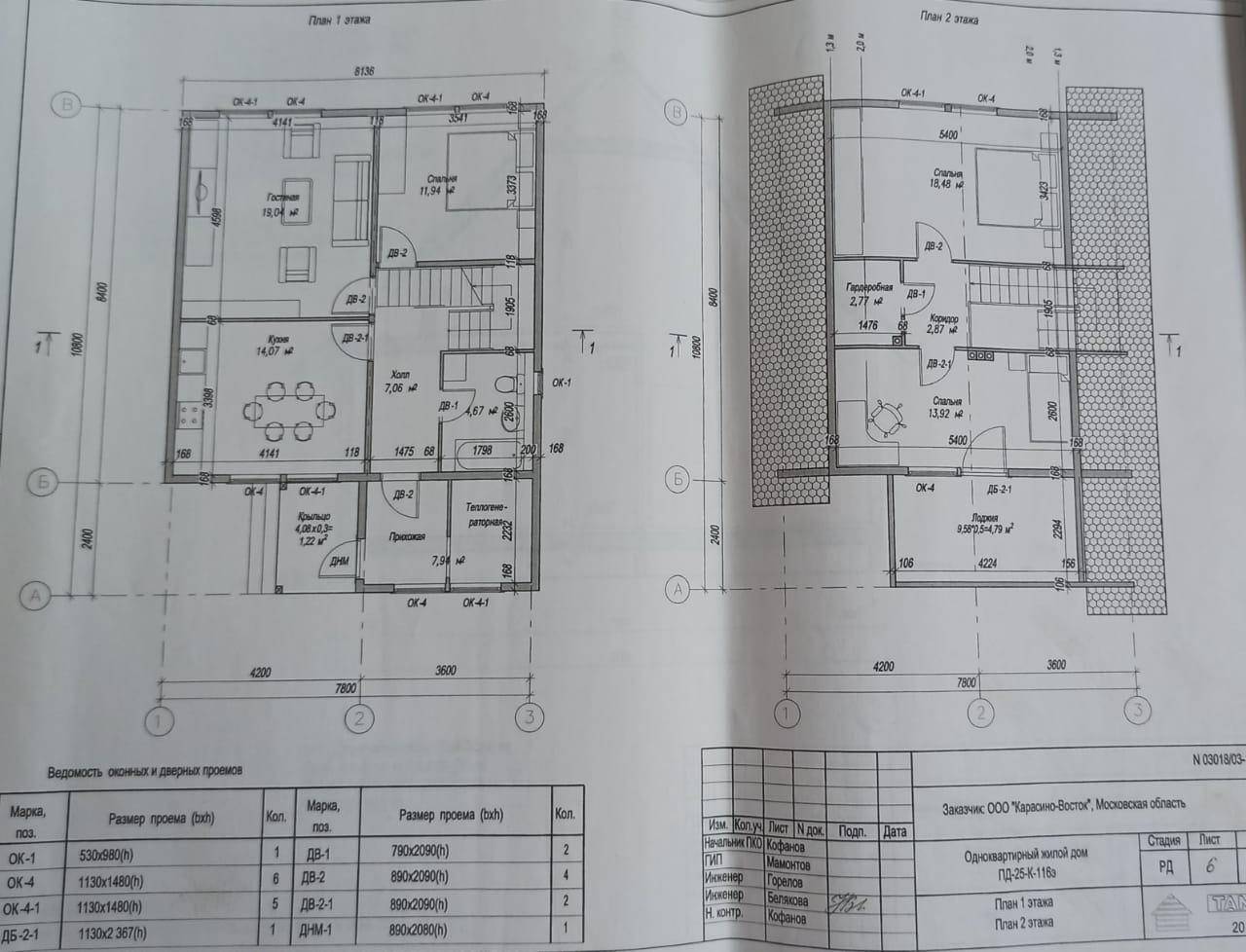 план 116