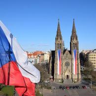 100 let české vlajky