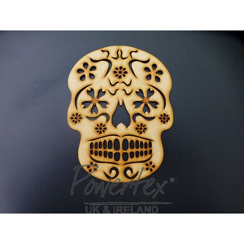 Powertex - MDF - Sugar Skull No.3
