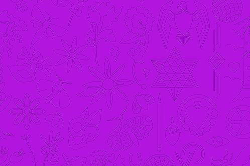 Sun Prints 2020 - Embroidery 9256P Jam