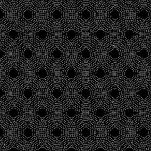 Makower - TN - Ripples - Black - 29006MK