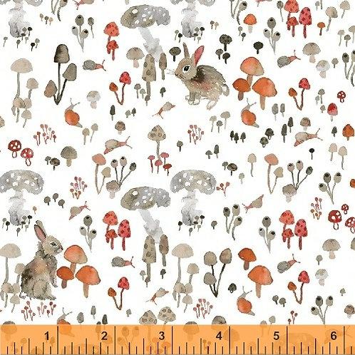 Windham Fabrics - Enchanted Forest - 43500-1White