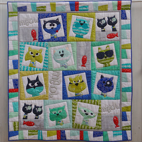Catface - Quilt Pattern