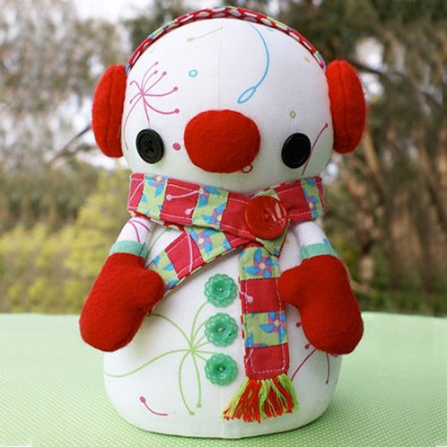 Snowflake - Snowman Pattern - Melly and Me
