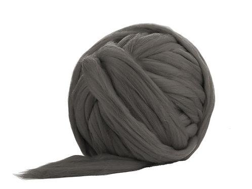Merino Jumbo Yarn - Pewter - 100% Wool
