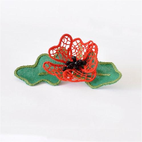 Dizzy & Creative - Stumpwork Kit - Poppy Red - 16019