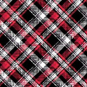 Scottie Love - Plaid Red 8510-12
