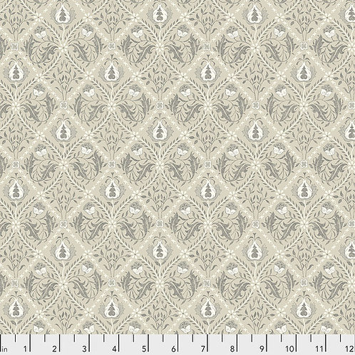 Pure Trellis LINEN - Mineral- Morris and Co