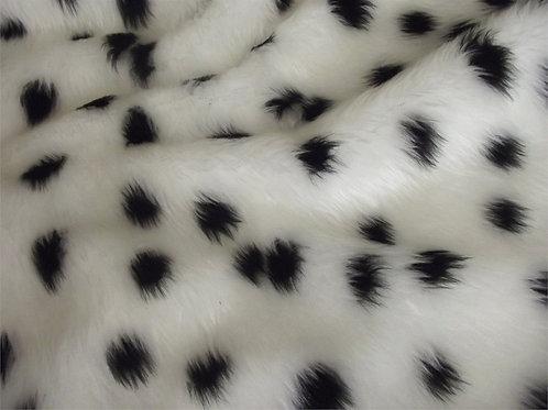 CRS Fabrics - Animal Faux Fur - Dalamtian R2P