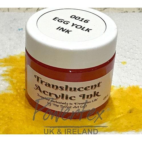 Powertex - Acrylic Ink - Egg Yolk