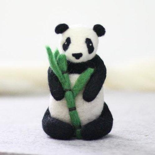 Giant Panda Felting Kit