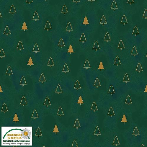 Stof Christmas Wonders 4596-800