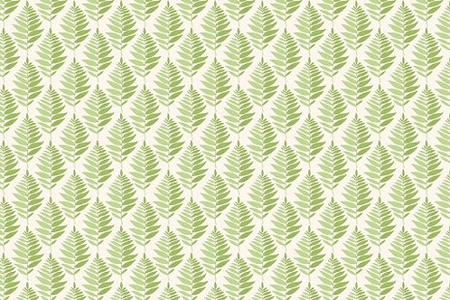 Makower Fern Garden Fern Geo Green 2078/G