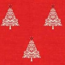 1783-R Scandi Trees Red