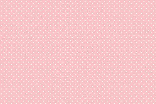 Makower Spot On 830-P2 Baby Pink
