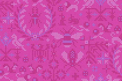 Sun Prints 2020 -Menagerie Dahlia 9387P