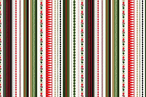 1803-G  MX Stripe Green