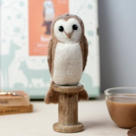 Barn Owl needlefelting kit