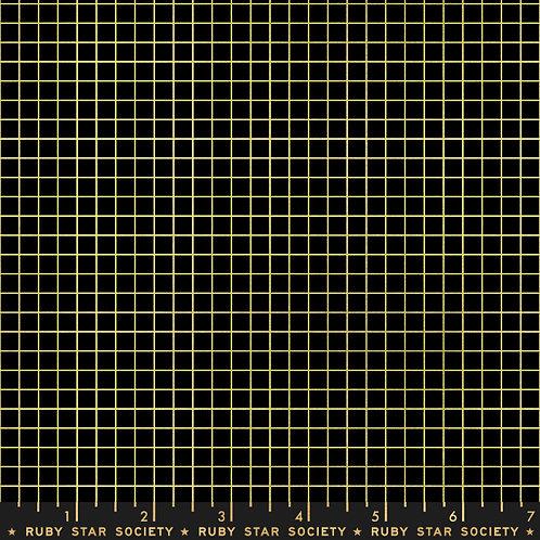 GRID- RS3005 22M Metallic Black Gold - Ruby Star Society