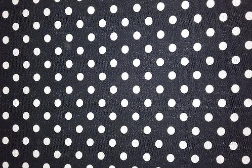 Louden - Linen feel Spot Black