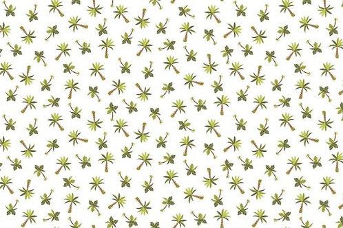 Makower - Rex - Palm Trees - Cream 1898/Q