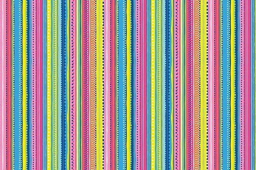 Makower - Ellie - Dotty Stripe 1313 P2