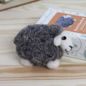 Herdwick Sheep Brooch needlefelting kit