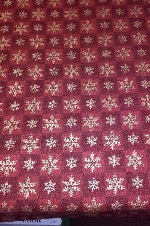 Fabri-Quit - Seasons Greetings Red 103-916