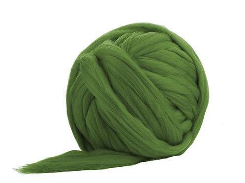 Merino Jumbo Yarn - Olive - 100% Wool