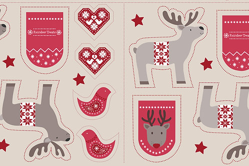 WIMSR- Cut MeOut Reindeer on natural