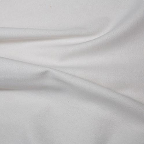 100% Cotton Canvas - 150cm Wide - WHite C6403WHI