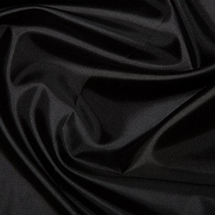 Habatai 100 % Polyester Fabric - 145cm Black