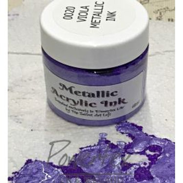 Powertex - Metallic Acrylic Ink - Viola