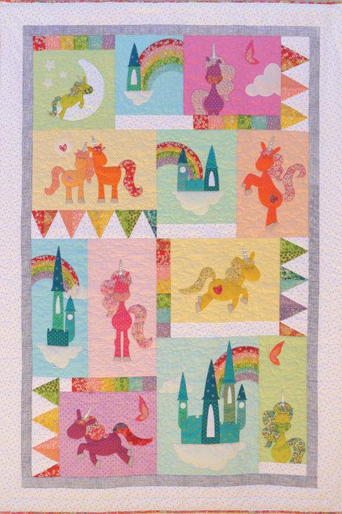 Unicornia - Quilt Pattern