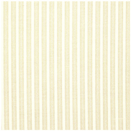 313-015 Stof Cream on Cream Stripe